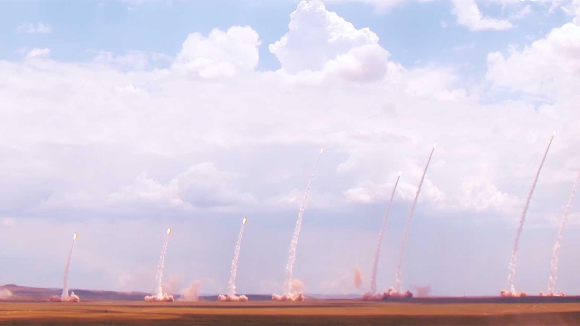 硬核力量!中国火箭军2021年形象片发布